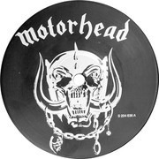 LP - Motörhead - Iron Fist - Red Lettering