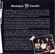 Double CD - Motörhead - Overkill