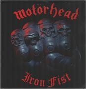 LP - Motorhead, Motörhead - Iron Fist - red lettering
