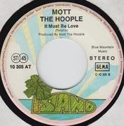 7'' - Mott The Hoople - Midnight Lady / It Must Be Love