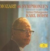 LP-Box - Mozart (Böhm) - 46 Symphonien - textured Hardcoverbox + booklet