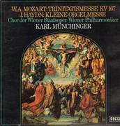 LP - Mozart / Haydn - Trinitatismesse KV 167 / Kleine Orgelmesse,, Münchinger, Chor der Wiener Staats