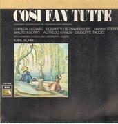 LP - Mozart - Cosi Fan Tutte,, Philh Chorus and Orch London, Böhm