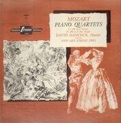 LP - Mozart / David Hancock with the New Art String Trio - Piano Quartets