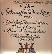 LP - Mozart - Der Schauspieldirektor,, Kammerorch Berlin, Helmut Koch