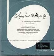 LP - Mozart - Die Entführung aus dem Serail,, Chor und Orch der Württembergischen Staatsoper, Leitner