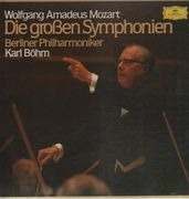 LP-Box - Mozart - Die großen Symphonien, Berliner Philh, Böhm