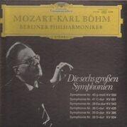 LP-Box - Mozart - Die sechs großen Symphonien  (Karl Böhm)