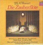 LP - Mozart - Die Zauberflöte