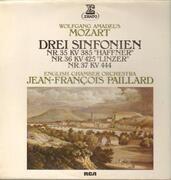 LP - Mozart - Drei Sinfonien-Haffner, Linzer, Nr. 37,, J.F. Paillaird, English Chamber Orch