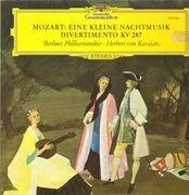 LP - Mozart - Eine Kleine Nachtmusik, Divertimento; Berliner Philh., H.v. Karajan
