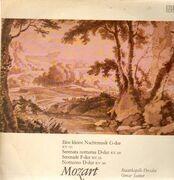 LP - Mozart - Eine kleine Nachtmusik,, Staatskapelle Dresden, Suitner