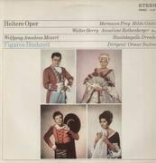 LP - Mozart - Figaros Hochzeit,, Staatskapelle Dresden, Otmar Suitner