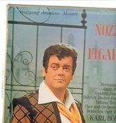 LP - Mozart/ H. Prey, E. Mathis, K. Böhm, Orch. und Chor der Deutschen Oper Berlin - Le Nozze di Figaro - booklet
