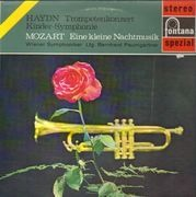 LP - Mozart / Haydn - Eine kleine Nachtmusik / Trompetenkonzert Es-dur, Kinder-Sinfonie