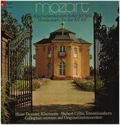 LP - Mozart - Klarinettenkonzert A-dur, Hornkonzert Es-dur; H. Deinzer, H. Crüts - Gatefold