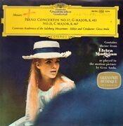 LP - Mozart - Klavierkonzerte, Piano Concertos KV 453, 467; Solist und Dirigent G. Anda