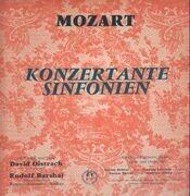 LP - Mozart - Konzertante Sinfonien,, David Oistrach, Rudolf Barshai, Kammerorch Moskau - Flipback