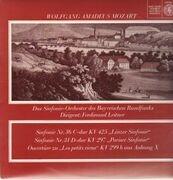 LP - Mozart - Linzer & Pariser & Ouvertüre zu Les petits riens,, Sinf-Orch des Bayrischen Rundfunks, Leitner