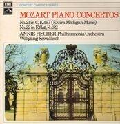 LP - Mozart - Piano Concertos,, Annie Fischer, Philh Orch, Sawallisch