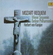 LP - Mozart - Requiem,, Karajan, Berliner Philh, Wiener Singverein