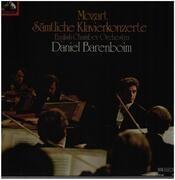 LP-Box - Mozart - Sämtliche Klavierkonzerte - 12 LPs