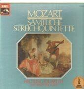 LP-Box - Mozart - Sämtliche Streichquintette (Heutling-Quartett, Heinz-Otto Graf)