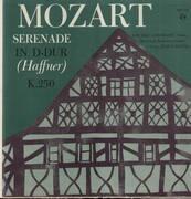 LP - Mozart - Serenade in D-Dur (Haffner) K. 250,, S. Gawriloff, Hamburger Kammerorch, J.Patzak