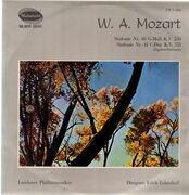 LP - Mozart - Sinfonien 40 & 41,, Londoner Philh, Leinsdorf