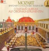 LP - Mozart - Sinfonien G-Moll KV550, B-dur KV319,, Collegium Aureum auf Originalinstrumenten