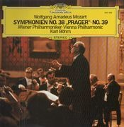 LP - Mozart - Symphonien No.38 Prager, No.39,, Karl Böhm, Wiener Phil.
