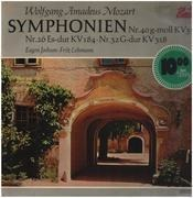 LP - Mozart - Symphonien Nr. 40, 26, 32