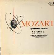 LP - Mozart - Symphonies Nos 18, 21,, Leinsdorf, Philh Symph Orch of London