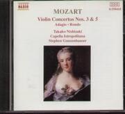 CD - Wolfgang Amadeus Mozart - Violin Concertos No. 3 & 5