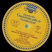 LP - Mozart / Weber - Konzerte für Klarinette und Orchester,, Geuser, Radio-Symph-Orch belrin, Fricsay - tulip rim