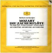 LP - Mozart - Zauberflöte,, Karajan, Berliner Philh - promo copy