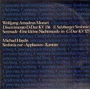 LP - Mozart, Haydn - Divertimento  KV 136, KV 525, Sinfonia zur Applausus-Kantate