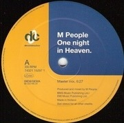 12'' - M People - One Night In Heaven