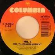 7inch Vinyl Single - Mr. T - Mr. T's Commandment