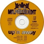 CD Single - Mr. President - Up 'N Away