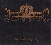 CD - Mundanus Imperium - Ode To The Nightsky - Digipak