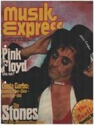 magazin - Musikexpress - 10/75 - Alice Cooper