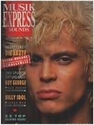 magazin - Musikexpress Sounds - 10/86 - Billy Idol
