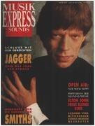 magazin - Musikexpress Sounds - 10/87 - Mick Jagger