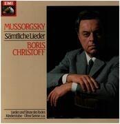 LP-Box - Mussorgsky / Boris Christoff - Sämtliche Lieder - Hardcover Box + Booklet