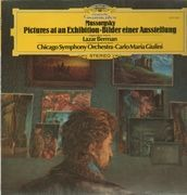 LP - Mussorgsky - Pictures at an Exhibition,, Berman, Chicago Symph Orch, C.M.Giulini