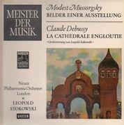 LP - Mussorgsky, Debussy - Bilder einer Ausstellung / La Cathedrale Engloutie
