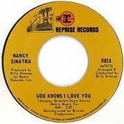 7'' - Nancy Sinatra - God Knows I Love You