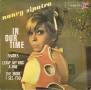 7inch Vinyl Single - Nancy Sinatra - In Our Time - Original French EP