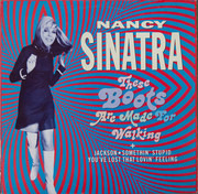 12inch Vinyl Single - Nancy Sinatra - These Boots Are Made For Walkin'